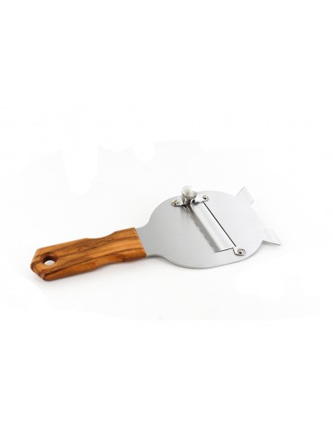 Sliced with wooden handle